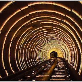 Bund Underground Tunnel by Giancarlo Bisone - Buildings & Architecture Architectural Detail ( shanghai, tunnel )