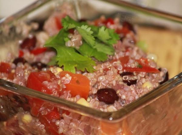 Quinoa Pico Salad Recipe