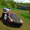 San Pedro Police Car Driving Offroad icon
