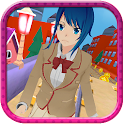 Anime Girl Subway Train Run icon