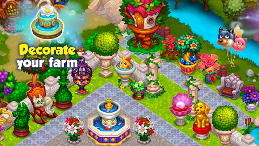 Wonder Valley: Enchanted Farm with Fairy tales android2mod screenshots 14