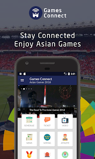 Games Connect : Asian Games 2018 - náhled
