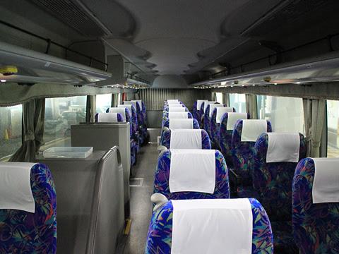 西武観光バス「関越高速バス」大宮・川越~長岡・新潟系統 1761 車内
