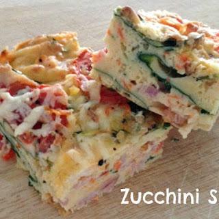 Delicious Zucchini Slice