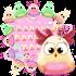 Pink Birds Keyboard Theme