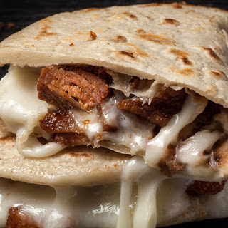 Pork Chicharron Quesadillas Recipe