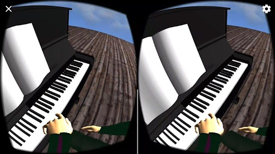 You can play piano - in VR- screenshot thumbnail