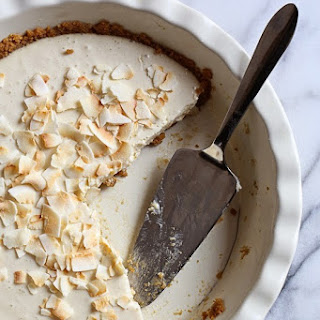 Coconut Obsessed Pie.