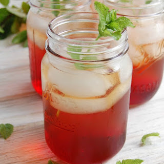 Spiked Pomegranate Iced Tea