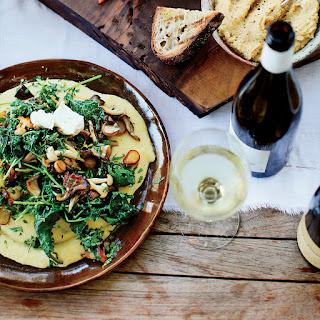 Soft Polenta with Mixed Mushrooms and Gremolata