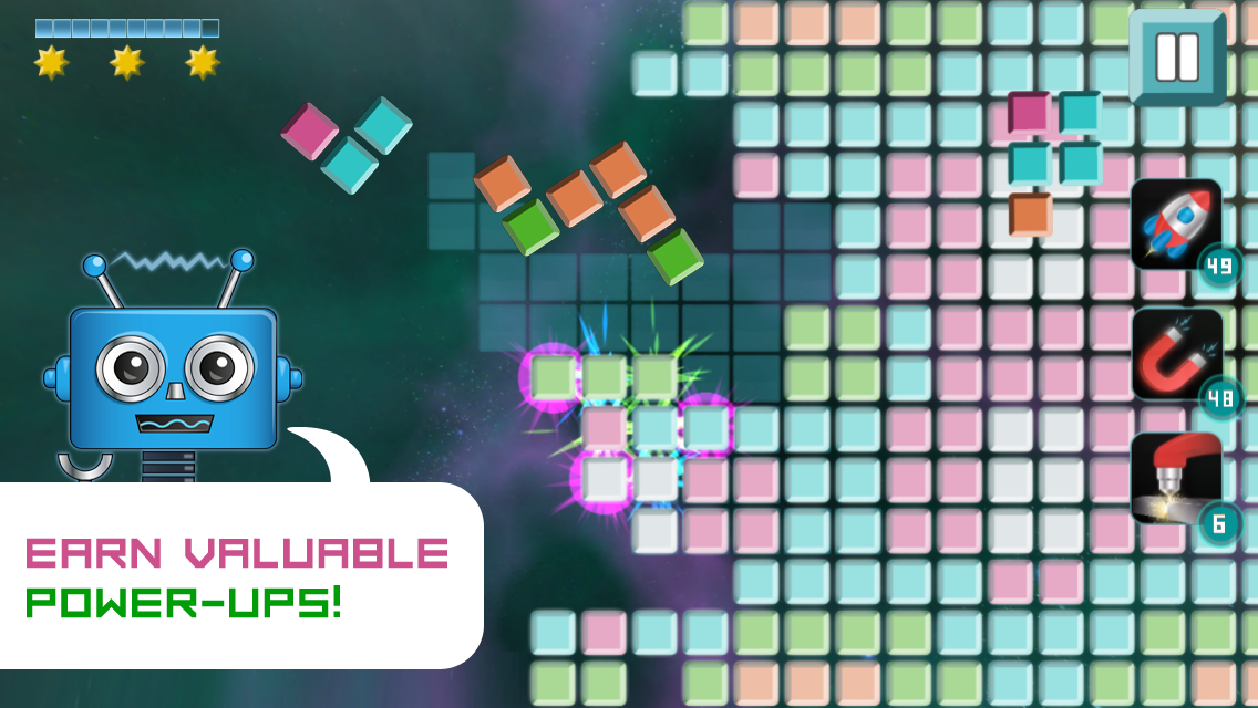 Space Tiles - Puzzle Voyager- screenshot