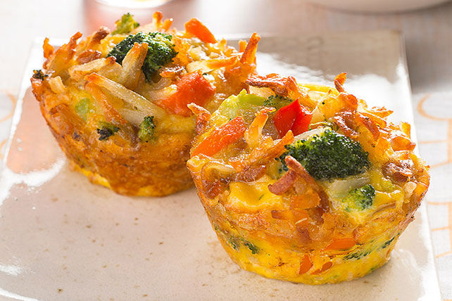 how to make vegetable muffins