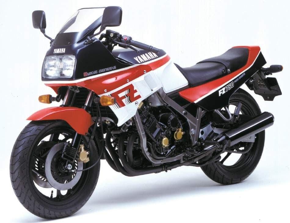 Yamaha FZ 750-manual-taller-despiece-mecanica