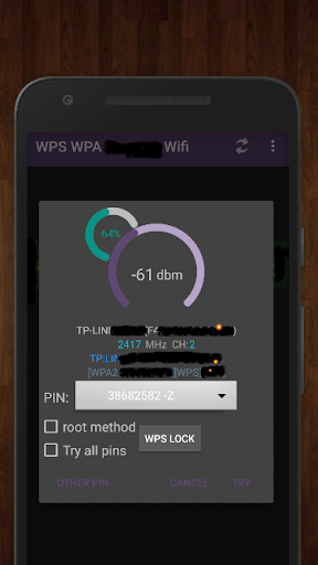 WPS WPA2 Connect Wifi 3.1.8-Beta-G screenshots 2