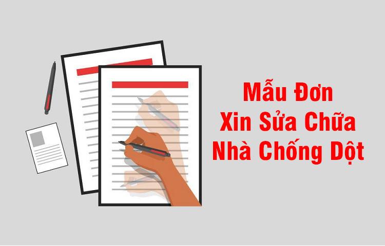 Đơn xin sửa chữa nhà của thợ sửa nhà quận Tân Phú