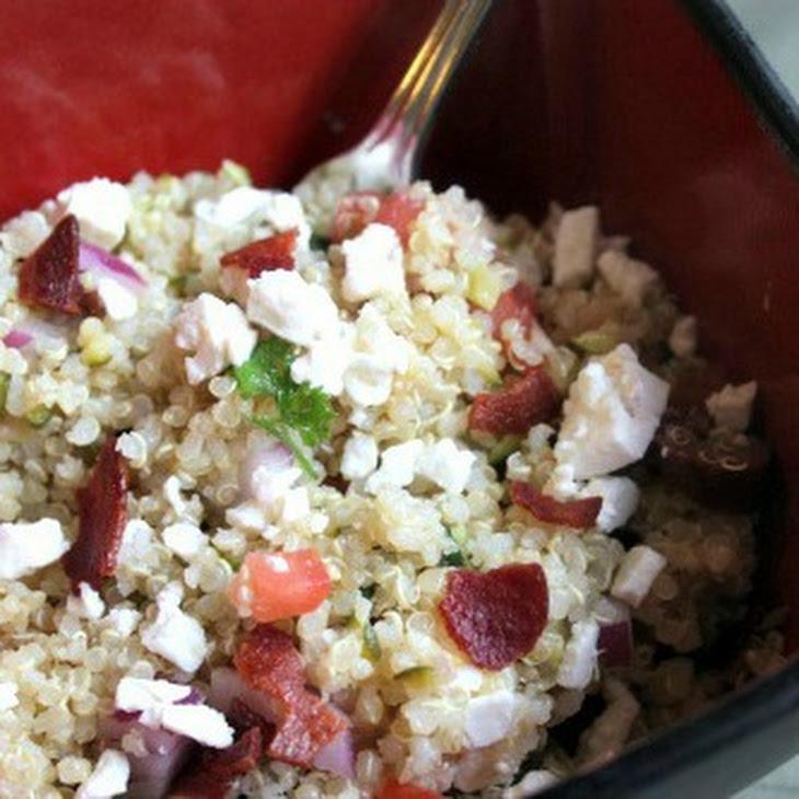 Simple Mediterranean Quinoa Salad Recipe