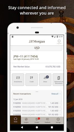 J.P. Morgan Private Bank  screenshots 2
