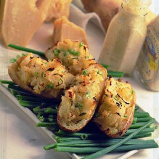 Creamy Parmesan Twice-Baked Potatoes