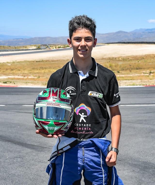 La joven promesa de 14 años, Francisco Puertas