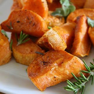 Laura Prepon'S Herb-Roasted Sweet-Potato Home Fries Recipe