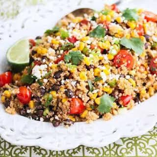 Mexican Corn Quinoa Salad.