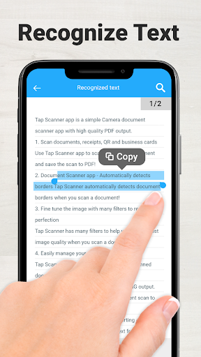 Scanner App To PDF - TapScanner 2.5.0 screenshots 7