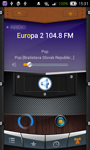 android Radio Slovak Republic Screenshot 3