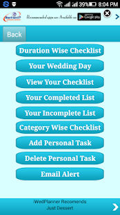 iwedplanner -wedding planning- screenshot thumbnail