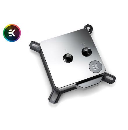 EK CPU-vannblokk, EK-Velocity RGB - Full Nickel
