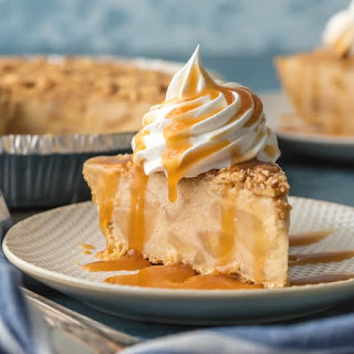 Caramel Apple Freezer Pie.