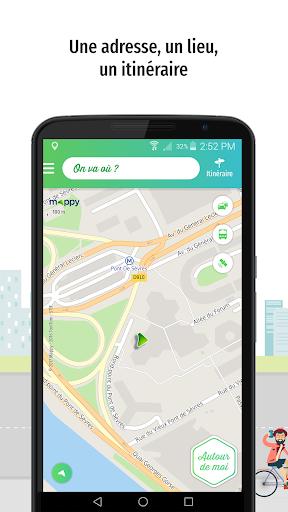 Mappy u2013 Plan, Comparateur du2019itinu00e9raires, GPS  screenshots 1