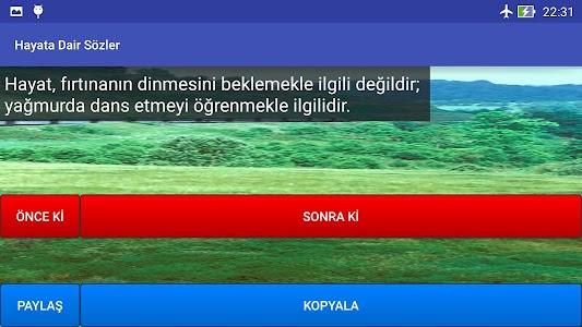 Hayata Dair Sözler screenshot 8