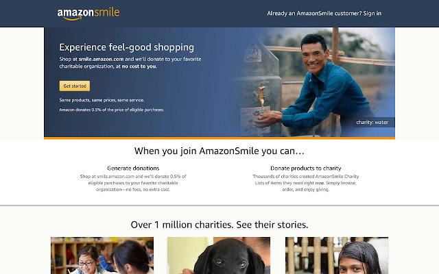 Amazon Smile Redirect