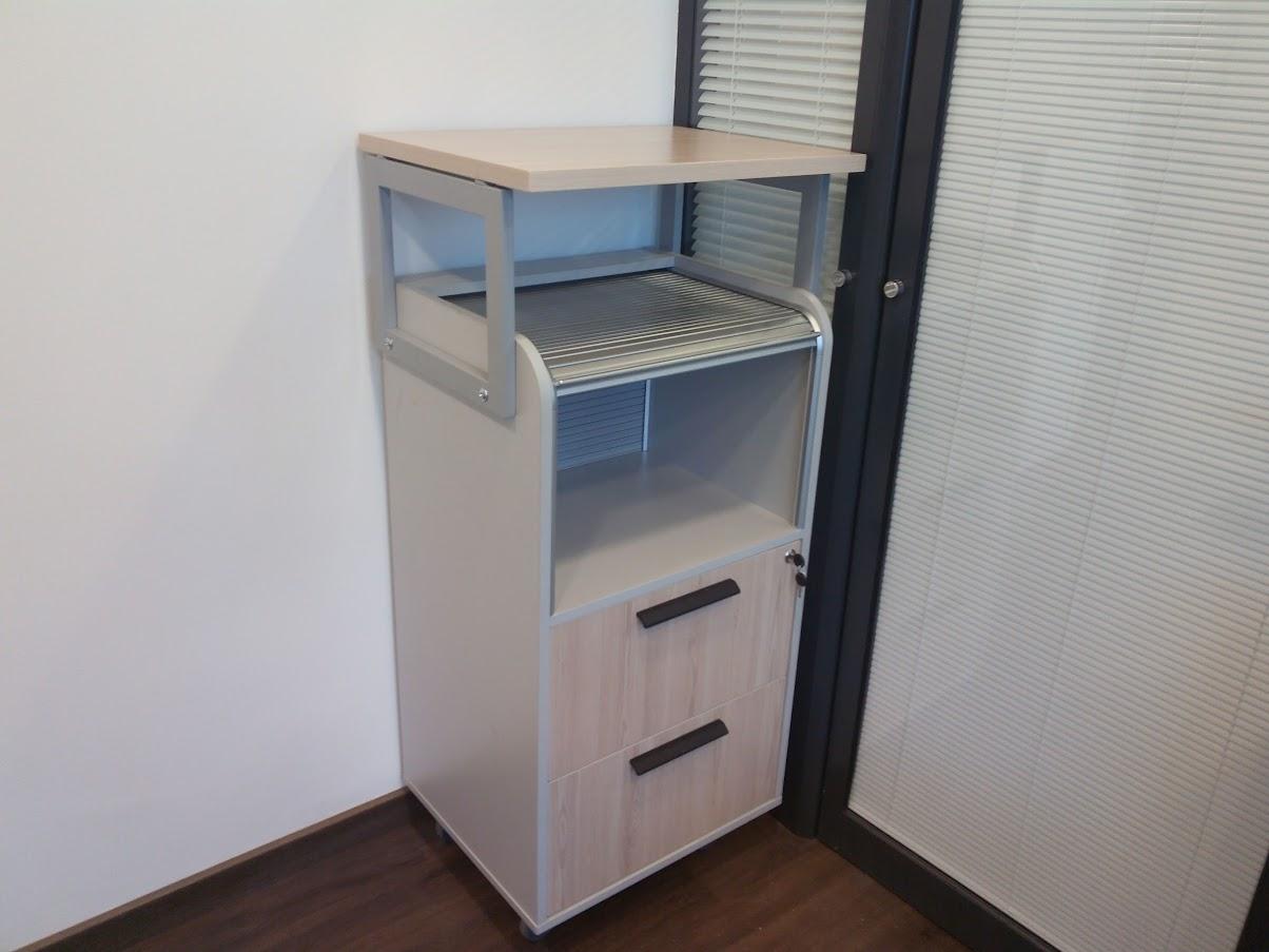 Роллетная тумба - Модульная офисная мебель, Металлические каркасы столов, Мебельные опоры ✆ 0679245444