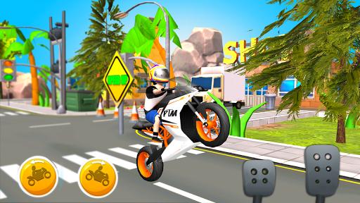 Cartoon Cycle Racing Game 3D 3.1 screenshots 1