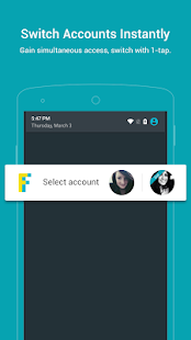 2Face - Multi Accounts Screenshot