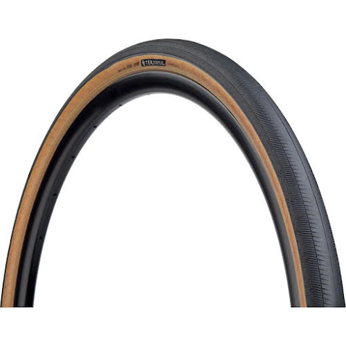 Teravail Rampart Tire, 700 x 38, Light and Supple, Tubeless-Ready, Tan