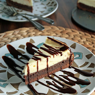 Gluten Free Brownie Cheesecake.