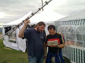 Photo: 2 austrians faking signal reciving