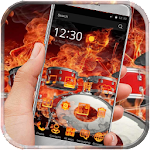 Fire Skull Drums Launcher icon