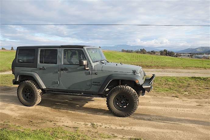 replace jeep body panels yourself