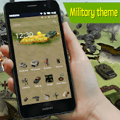Military army icons theme pack