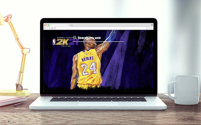 NBA 2K21 New Tab game Theme