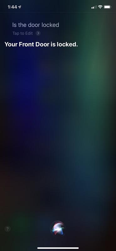 Siri Query UI