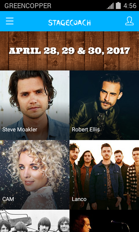 Stagecoach Festival 2017- screenshot