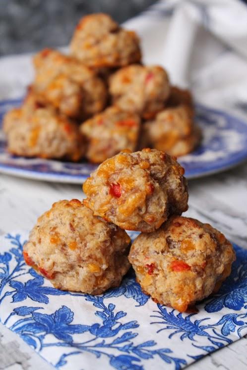 Pimento and Cheese Sausage Balls