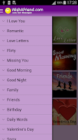 Screenshot of Love Cards, Messages & Quotes