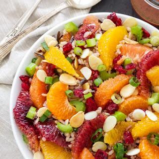 Citrus and Wild Rice Salad