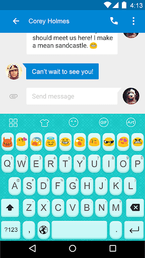 Adorable -Love Emoji Keyboard