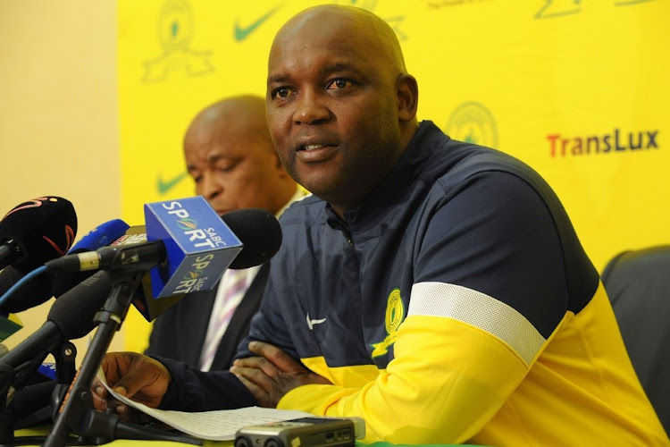 Mamelodi Sundowns coach Pitso Mosimane. Picture: GALLO IMAGES